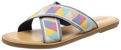 d03b23242210ae Toms Women s Viv Novelty Textile Sandal  Amazon.com.au  Fashion