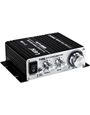 LEPY LP-V3S 25Wx2 amplificador + HiFi retrasaba protección, compatible con PC, iPod S, móviles o MP3-Player DAC etc. + 5A Fuente de alimentación