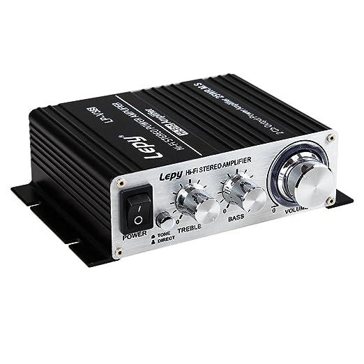 103 opinioni per Lepy LP-V3s piccolo amplificatore HIFI per auto,PC, casa ,iphone+ Alimentatore
