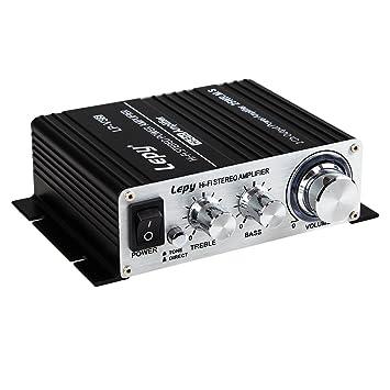 LEPY LP-V3S 25Wx2 amplificador + HiFi retrasaba protección, compatible con PC, iPod
