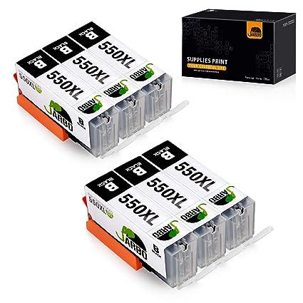 JARBO Cartuchos de tinta de alto rendimiento para Canon Pixma ...