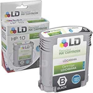 LD Remanufactured Ink Cartridge Replacement for HP 10 C4844A High Yield (Black)