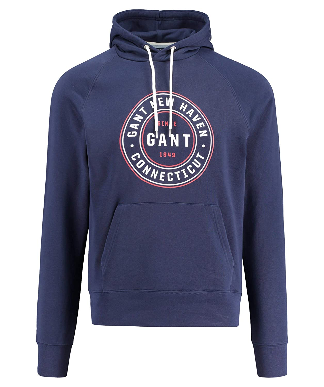 GANT mit Herren Sweatshirt mit GANT Kapuze 152051