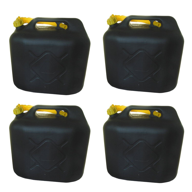 3x Benzinkanister 20 L Kraftstoff Kanister Reservekanister UN-Zulassung Diesel