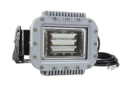 Explosion Proof 70 Watt LED Wall Pack Down Light - 6000