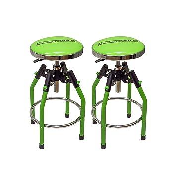 oemtools adjustable hydraulic shop stool 2 pack