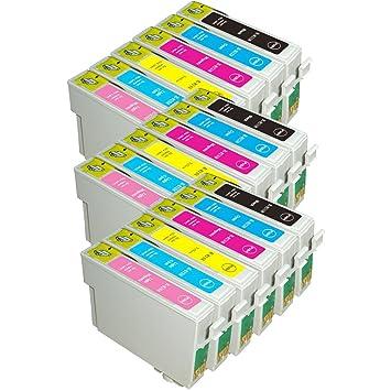 AA + EFT cartucho de tinta negra de recambio para 18 Cartuchos de ...