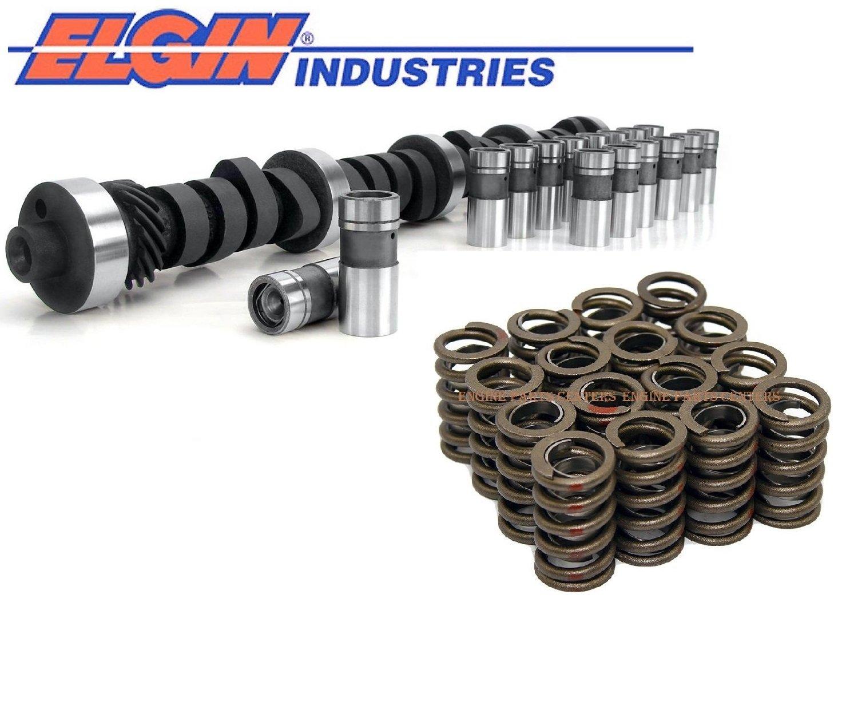 Chevy 283 327 350 L82 Corvette Cam & Flat Tappet Lifter Kit Corvette lifters 450/461 +valve springs (std) ELgin Industries