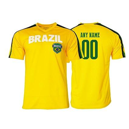 6dc1438030d Pana brazil Jersey Flag Brasil Youth Training Custom Name and Number Soccer  Any Sport Celebration World