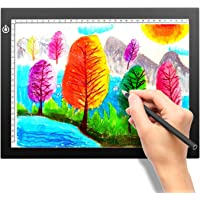 A4 Portable LED Light Box Tracer, LITENERGY Light Pad USB Power LED Artcraft Tracing Light Table for Artists,Drawing…