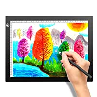 A4 Portable LED Light Box Trace, LITENERGY Light Pad USB Power LED Artcraft Tracing...