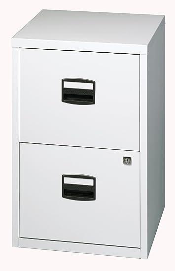 Bisley Büroschubladenschrank PFA2445 lichtgrau Light: Amazon.de ...