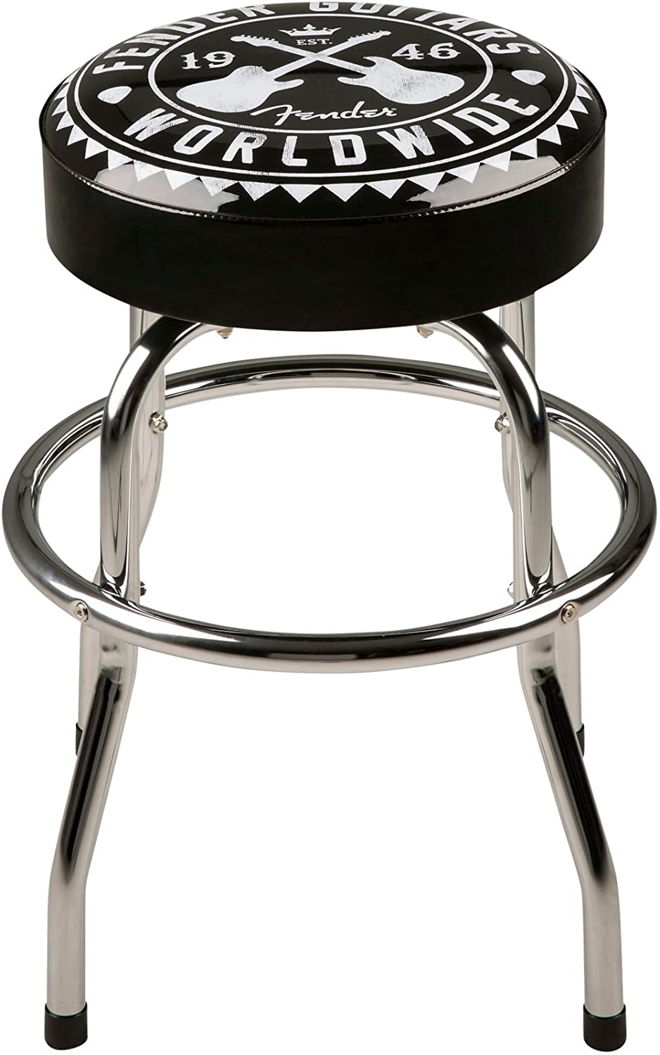 Admirable Amazon Com Fender Worldwide 24 In Barstool 24 In Black Camellatalisay Diy Chair Ideas Camellatalisaycom