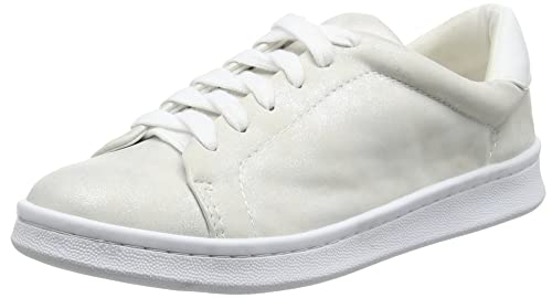 Trainer, Basses Femme - Argenté - 38 EU (5 UK)Miss Selfridge
