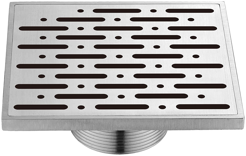 5 5 Dawn Kitchen /& Bath Products Inc. Dawn SRO050504 Contemporary Rio Orinoco River Series Square Shower Drain