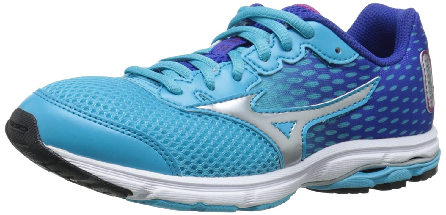 Amazon.com | Mizuno Wave Rider 18 Junior Kids Running Shoe (Little Kid/Big  Kid) | Running