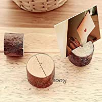 12 soportes de madera para tarjetas de ubicación