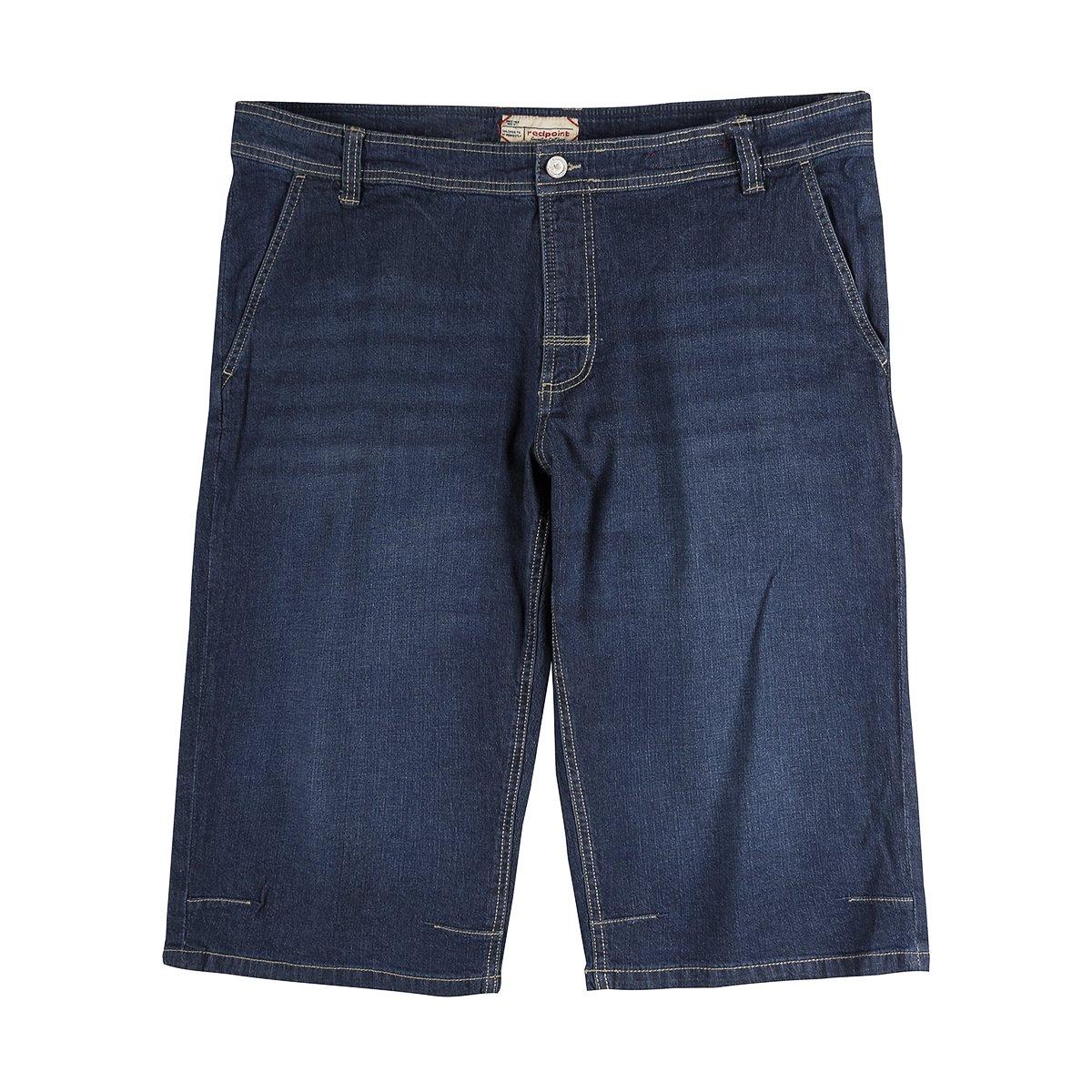 ROTpoint Capri-Jeans große Größen dark stone