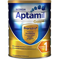 Aptamil Gold+ 1 Infant Formula From Birth to 6 Months Babies 900g