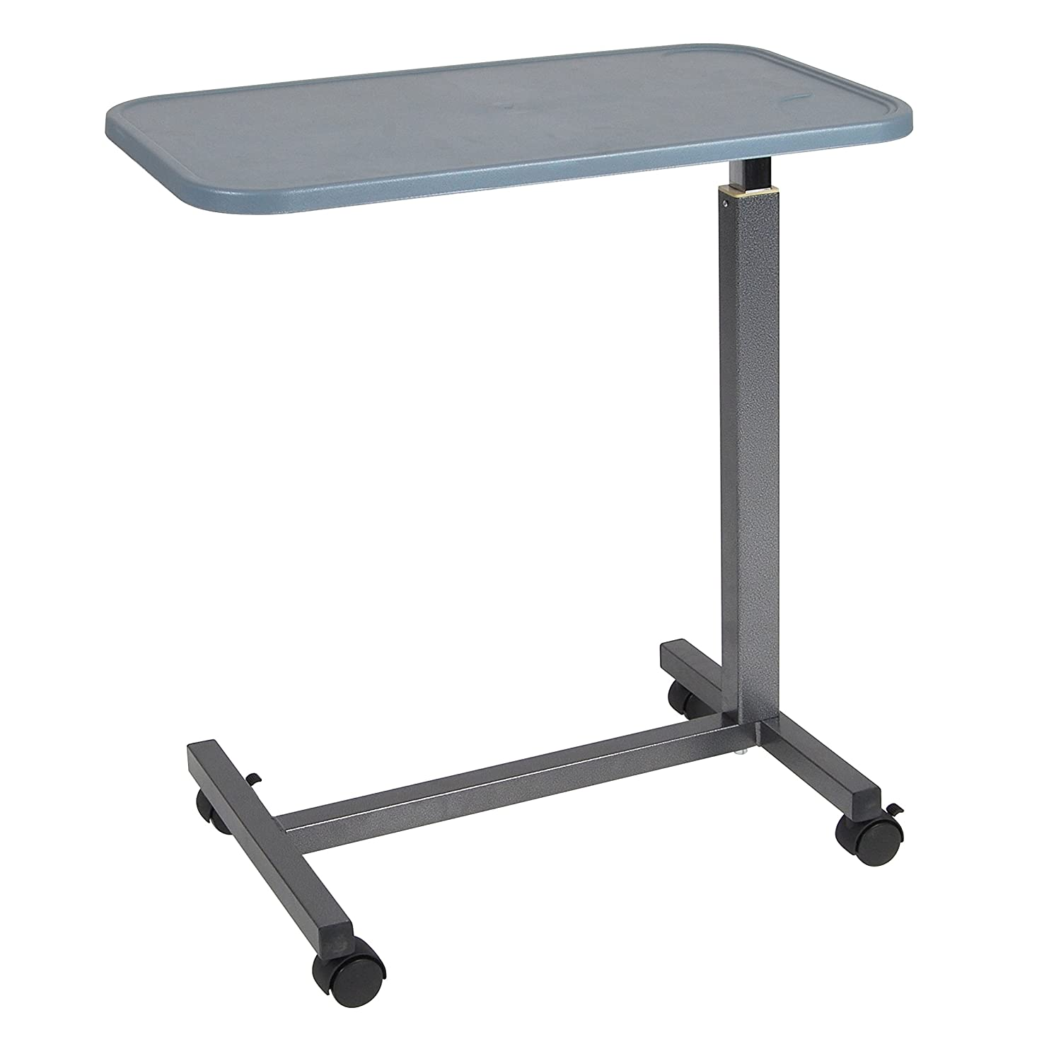 Diy overbed table - Drive Medical Overbed Table With Plastic Top Silver
