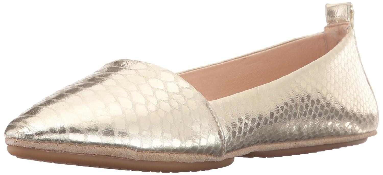 Yosi Samra Women's Vannah Pointed Toe Flat B01HPO62LE 5 B(M) US|Gold