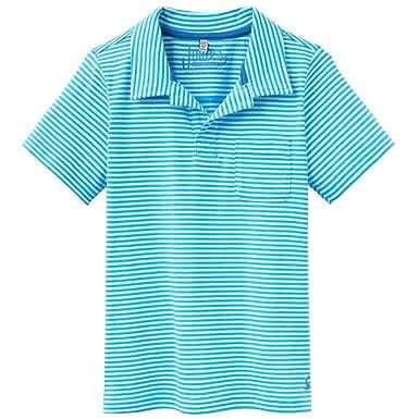 Joules - Polo - Rayas - para niño Ocean Blue Stripe 5-6 Años ...