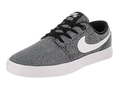 Nike Kids Portmore II Ultralight (GS) Black/White/Wolf Grey Skate Shoe