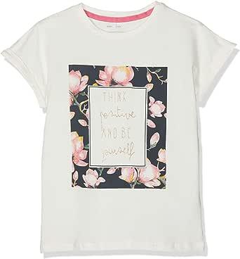 NAME IT Nmffine SS Top Box Camiseta para Niñas