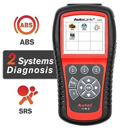 Autel AutoLink AL619 ABS/SRS + Can OBD2 Diagnósticos Coche Lector ...