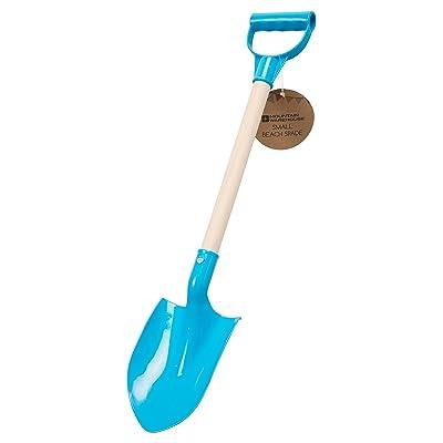 Mountain Warehouse Enfants de plage pelle - bêche plastique bac à sable jouet, jeu de manche en bois de jardin extérieur, robuste Summer Sand Toy