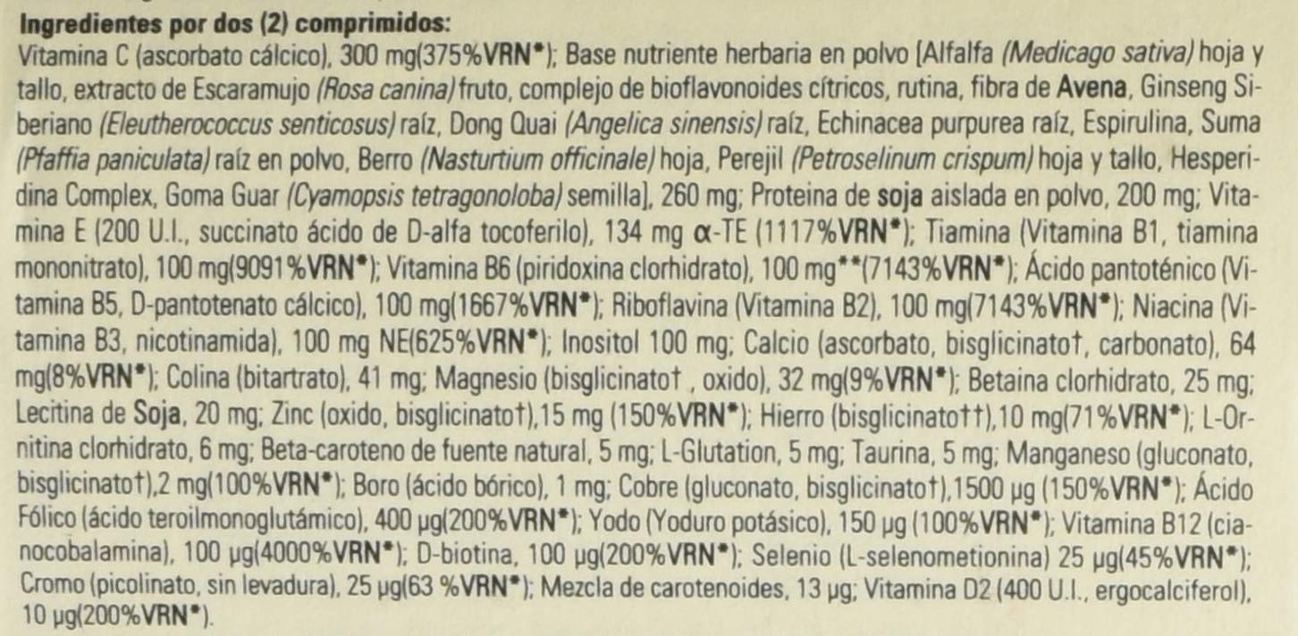 Amazon.com: Solgar Formula Multinutrient System VM-2000 Tablets, 30 Count: Health & Personal Care