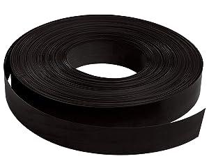 Slatwall Inserts Black Vinyl (130'L Roll)