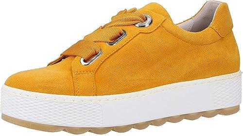 buy popular 529b6 e89fc Gabor Florenz, Sneaker, Samtchevreau, Mango, Weite G ...