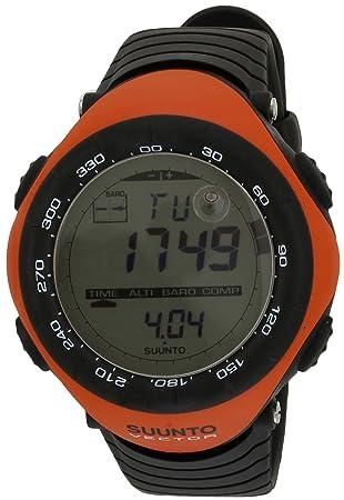 suunto outdoor vector watch unisex orange orange size one size rh amazon co uk suunto vector hr user manual Suunto Repair Manual