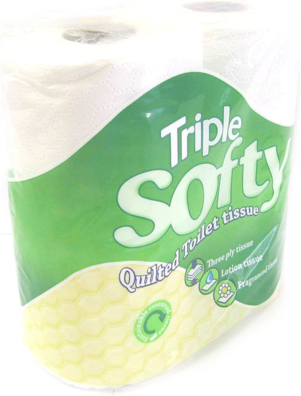 Pack 40 So Soft Little Duck 3ply Quilted Toilet Tissue Rolls