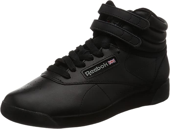 Reebok Freestyle Hi Sneakers High Top Damen Schuhe Schwarz