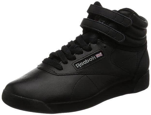 Reebok Freestyle Hi Zapatillas mujer  de cuero para mujer Zapatillas color blanco 2ea36e