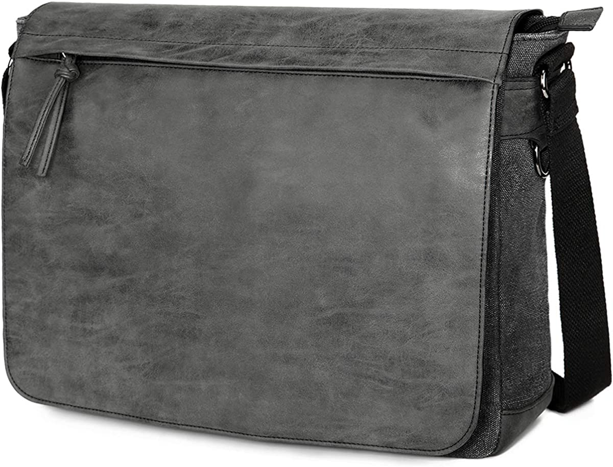 "Mens Laptop Messenger Bags 15.6"" Water Resistant Shoulder Bag"