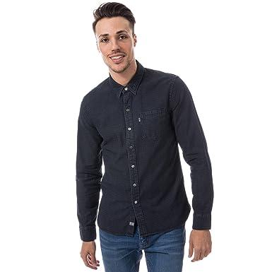 9df232584b8f Levi s Mens Sunset Pocket Shirt in Denim- Long Sleeve- Pocket to ...