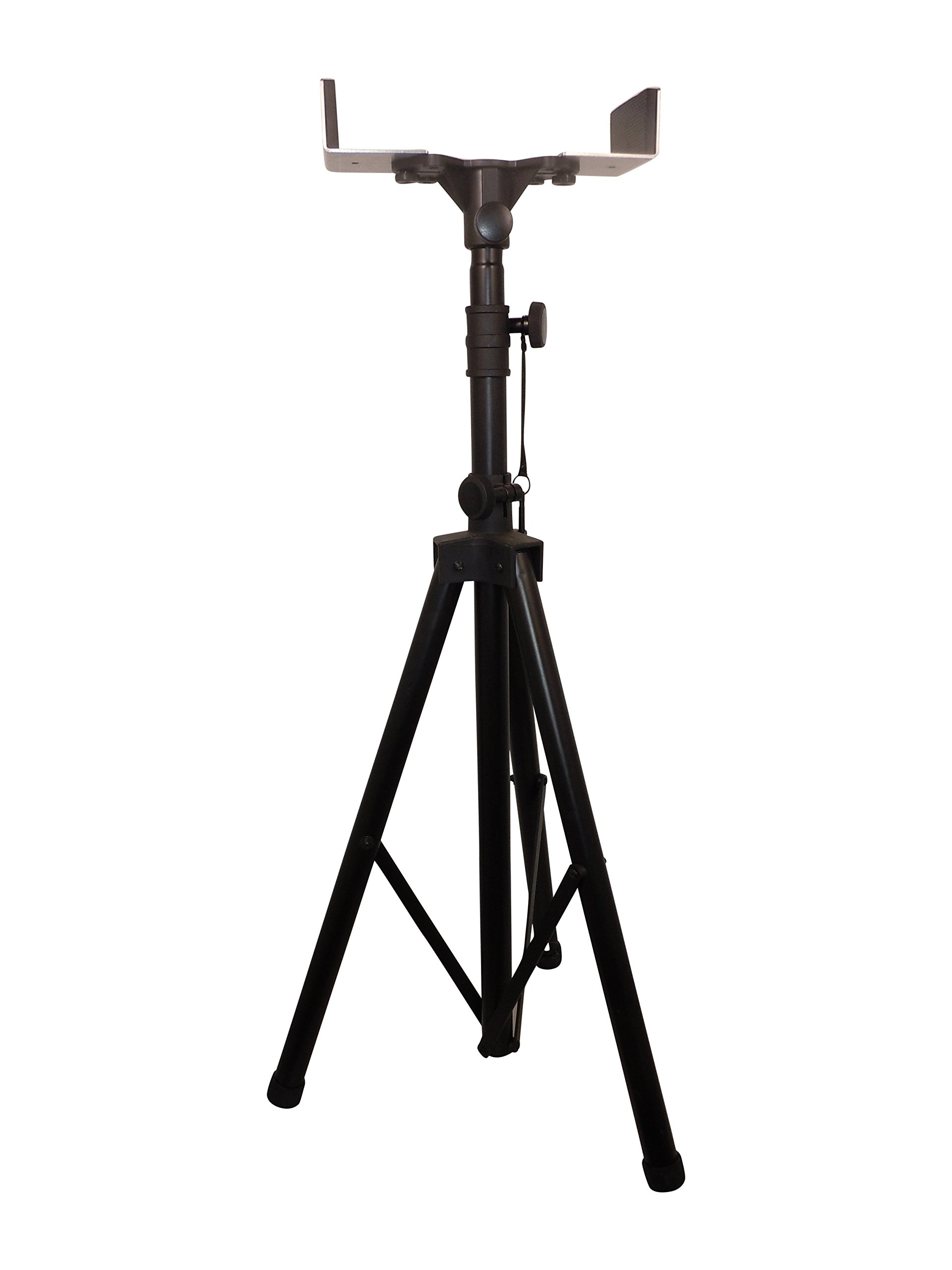 Heavy Duty Universal Tripod Adjustable Stand for Stage, Construction Lights, Workshops, Signage, by In360light