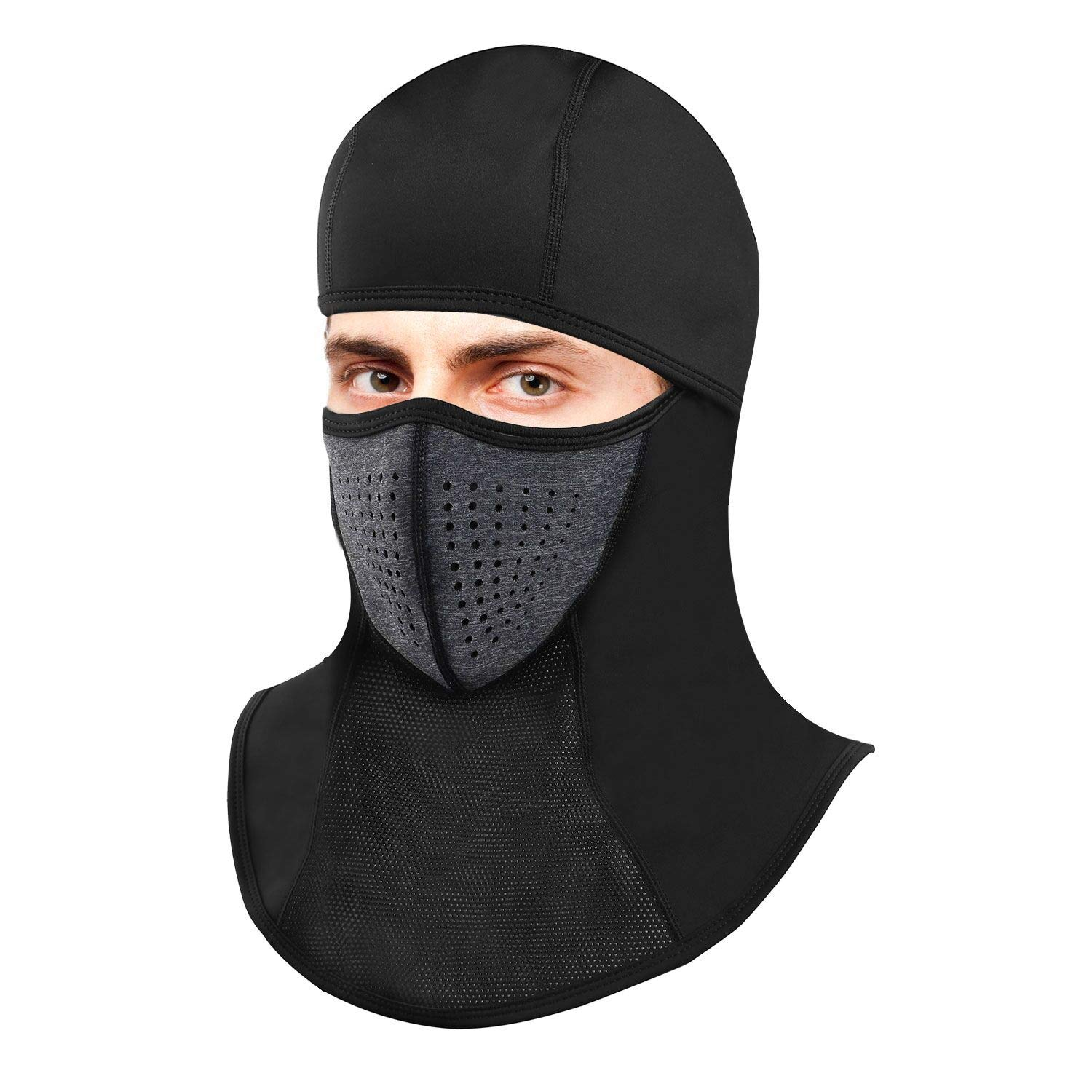 Omenex Balaclava Ski Masks for Man Women Face Mask Waterproof Windproof  with Size Adjustable Band Highly Breathable Vent Stretch Material for  Winter Cold ... 3177613adc
