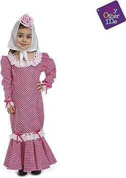 Disfraz de Chulapa Rosa para bebé: Amazon.es: Juguetes y juegos