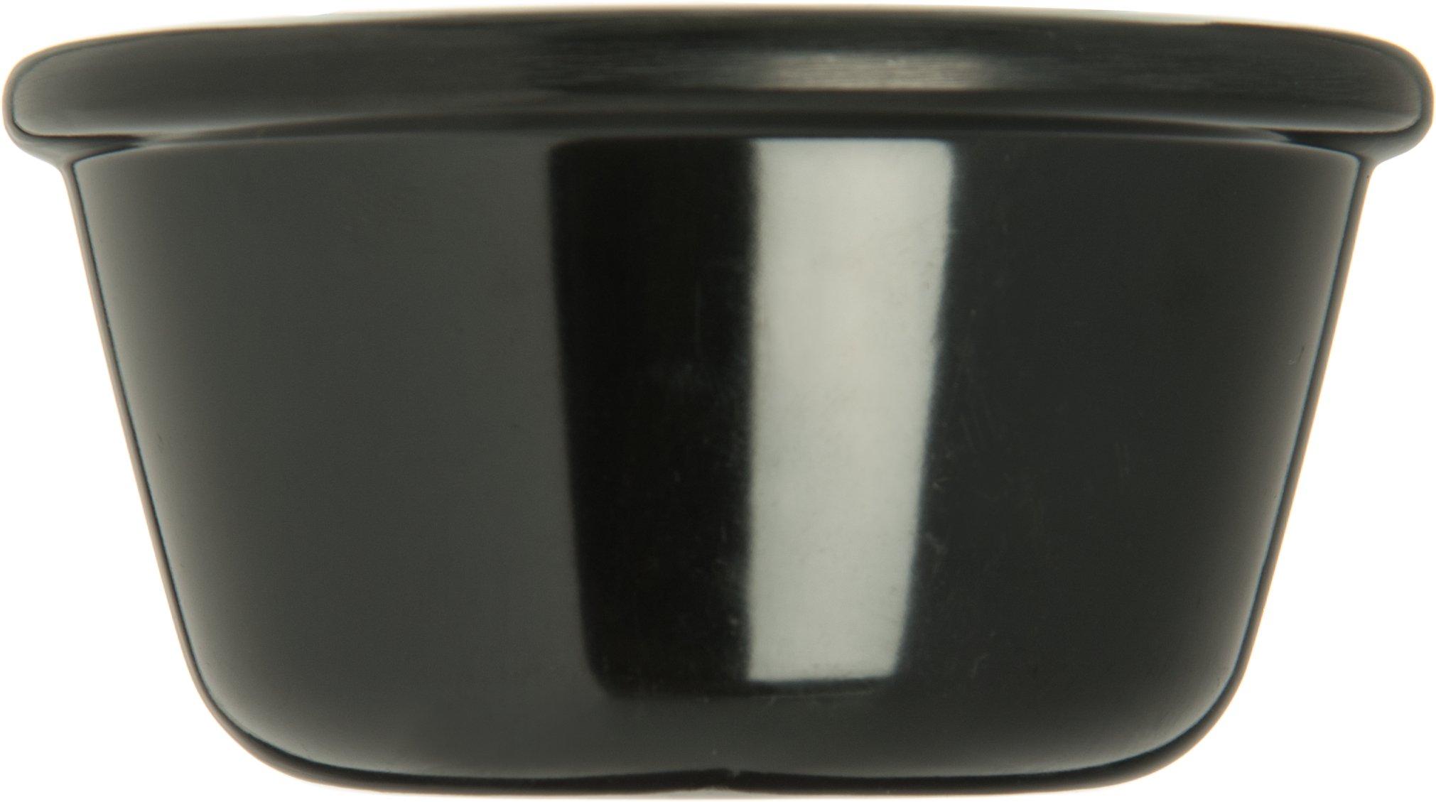 Carlisle S28503 Melamine Smooth Ramekin, 4 oz. Capacity, Black (Case of 48) by Carlisle (Image #4)