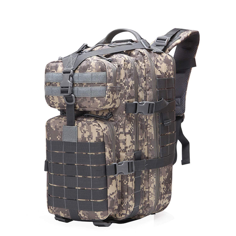40L タクティカル アサルトパック バックパック 防水 バグアウトバッグ スモールリュックサック アウトドア ハイキング キャンプ ハンティング用 B07S88CFBV ACU One Size