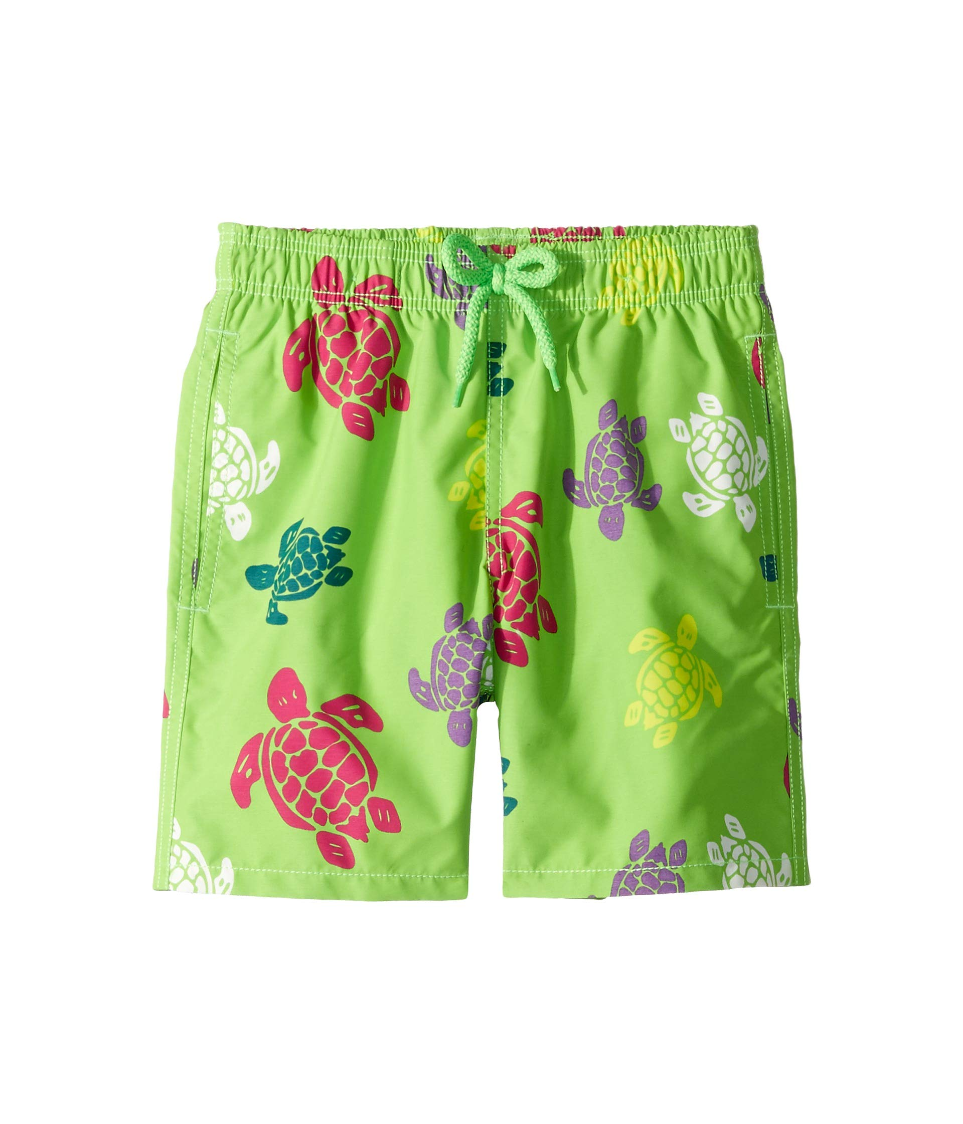 Vilebrequin Boys Kids Multicolor Turtles Swimtrunk-8 yrs, Grass Green, 8