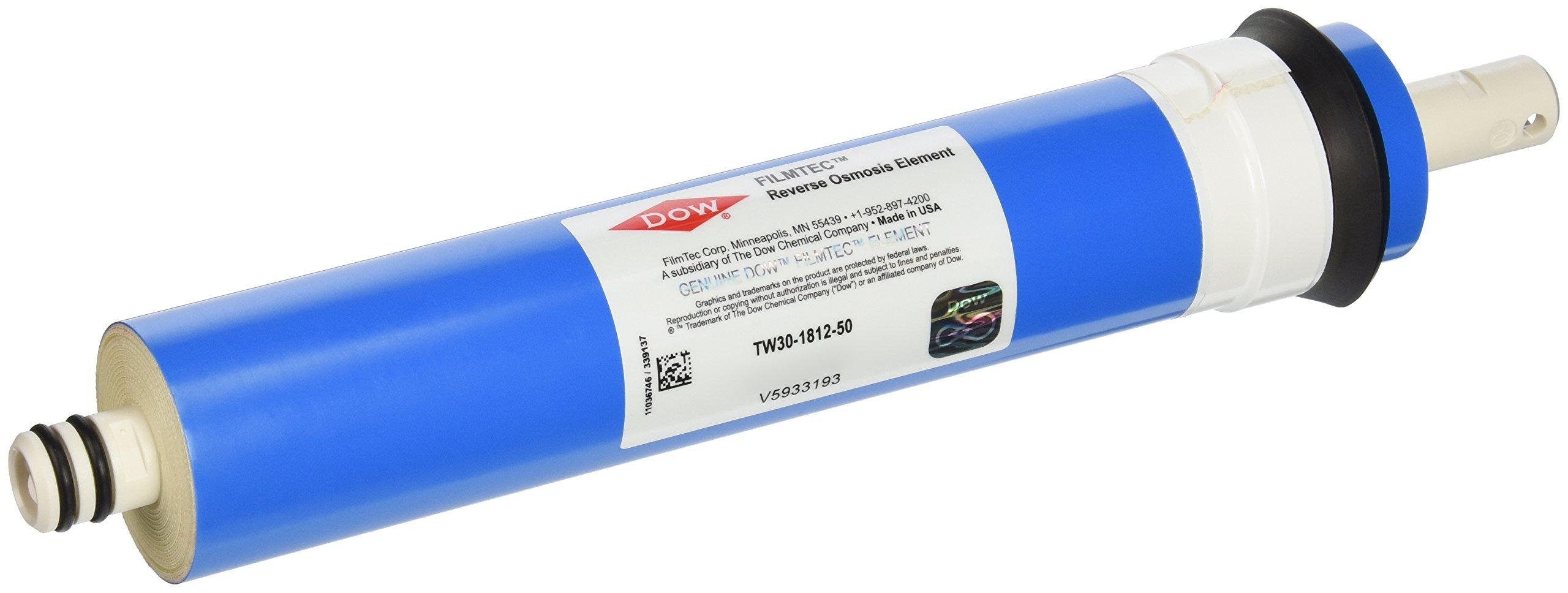Filmtec TW30-1812-50 TFC Membrane, 1-Pack by Film Tec