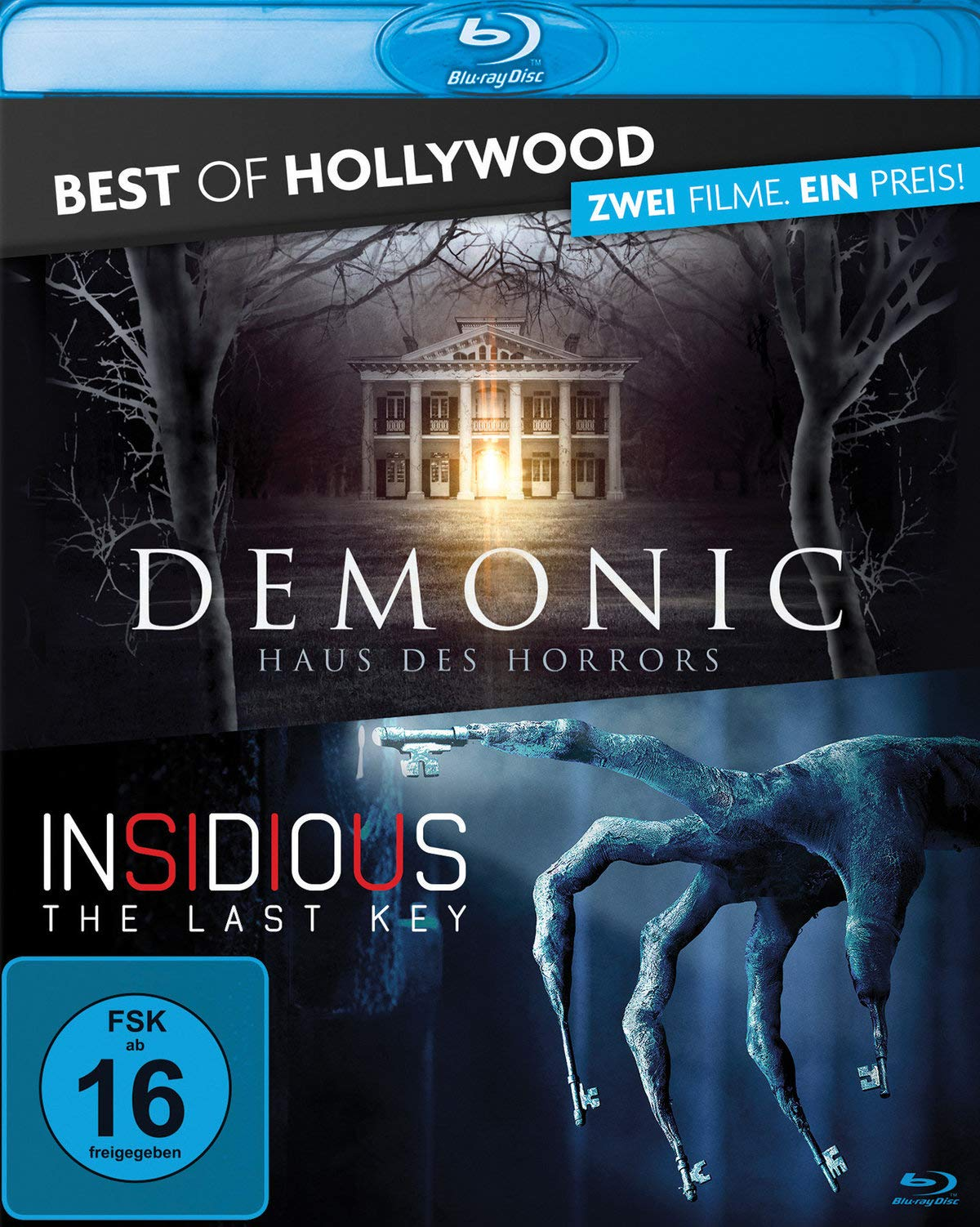 Insidious - The Last Key & Demonic - Haus des Horrors: Best of Hollywood - 2 Movie Collectors Pack: Amazon.es: Bella, Leigh Whannell Max La, Canon, Will, Simon, Doug, Shaye, Lin, Botet,