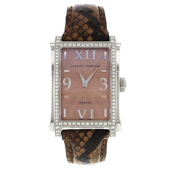 Cuervo Y Sobrinos A1010.1COGO-S2/4 - Reloj, correa de cuero: Amazon.es: Relojes