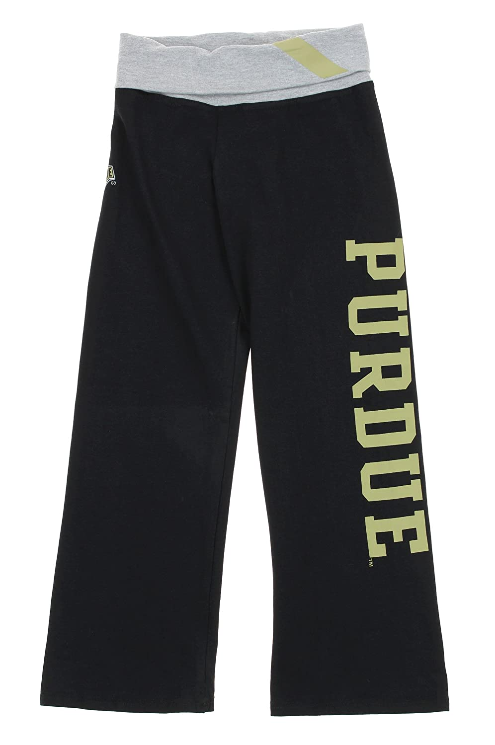 NCAA Big Girls YouthヨガRollパンツ、いくつかチーム Small Purdue Boilermakers B074NC72H6