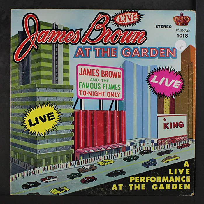The Best James Brown At The Garden On Vinyl